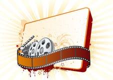ilustración del tema de la película Foto de archivo libre de regalías