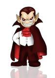 Ilustración del vampiro Imagenes de archivo
