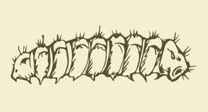 Ilustración del vector Caterpillar Imagen de archivo libre de regalías