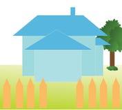 Ilustración del vector de la casa Fotos de archivo