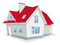 Ilustración del vector de la casa Foto de archivo libre de regalías