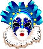 Ilustración del vector de la máscara del carnaval Fotos de archivo
