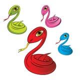 Ilustración del vector de la serpiente ilustración del vector