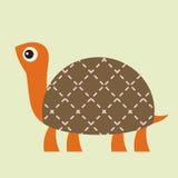 Ilustración del vector de la tortuga Imagenes de archivo