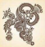 Ilustración del vector de las flores Foto de archivo libre de regalías