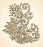 Ilustración del vector de las flores Fotos de archivo libres de regalías