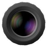 Ilustración del vector de las lentes de cámara Fotografía de archivo libre de regalías