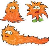 Ilustración del vector de un monstruo positivo Imagen de archivo libre de regalías