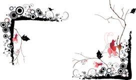 Ilustración del vector del bastidor Fotografía de archivo