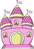 Ilustración del vector del castillo Imagen de archivo libre de regalías