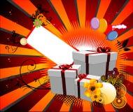 Ilustración del vector del cumpleaños Fotografía de archivo libre de regalías