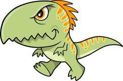 Ilustración del vector del dinosaurio de T-Rex Imagenes de archivo