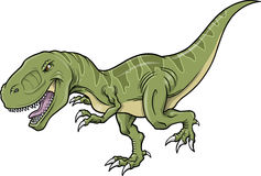 Ilustración del vector del dinosaurio del Tyrannosaurus Fotografía de archivo