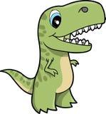 Ilustración del vector del dinosaurio del Tyrannosaurus Imagen de archivo