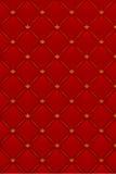 Ilustración del vector del fondo de cuero rojo Imagenes de archivo