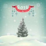 Ilustración del vector del fondo de la Navidad Imagen de archivo