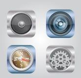 Ilustración del vector del icono de los apps Foto de archivo
