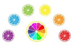Ilustración del vector del limón Fotos de archivo