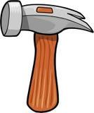 Ilustración del vector del martillo Imagen de archivo