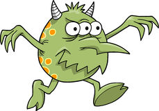 Ilustración del vector del monstruo Imagenes de archivo