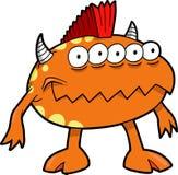 Ilustración del vector del monstruo Fotografía de archivo libre de regalías