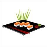 Ilustración del vector del sushi Imagenes de archivo