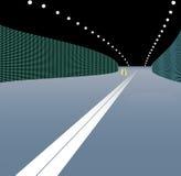 Ilustración del vector del túnel del transporte. Fotografía de archivo