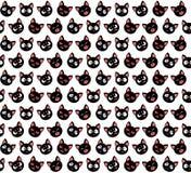 Ilustración del vector Modelo inconsútil con los gatos lindos Diseño de carácter stock de ilustración