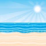 Ilustración del vector Playa stock de ilustración