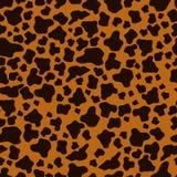 Ilustración del vector Una imagen de la textura de las pieles animales, guepardo Puntos oscuros en un fondo ligero Foto de archivo libre de regalías