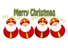 Ilustración divertida de la Navidad Fotografía de archivo