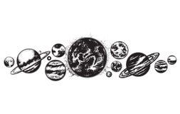 Ilustración drenada mano del vector Foto de archivo libre de regalías