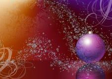 Ilustración en un tema de la Navidad Imagen de archivo libre de regalías