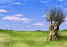 Ilustración escénica 01 Imágenes de archivo libres de regalías