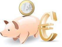 Ilustración euro del vector ilustración del vector