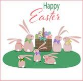 Ilustración feliz de Pascua libre illustration
