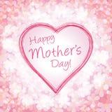 Ilustración feliz del día de madre stock de ilustración