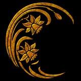 Ilustración floral Fotografía de archivo libre de regalías