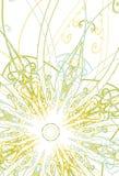 Ilustración floral del fondo Imagenes de archivo