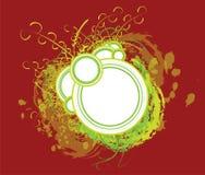 Ilustración floral del marco foto de archivo libre de regalías