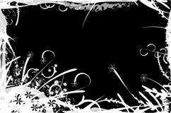 Ilustración floral del marco ilustración del vector
