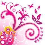 Ilustración floral del vector Foto de archivo