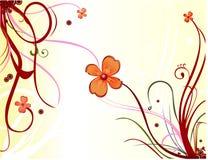 Ilustración floral del vector stock de ilustración