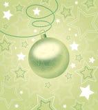 Ilustración hermosa de la bola de la Navidad. Fotografía de archivo libre de regalías