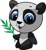 Ilustración linda de la panda stock de ilustración