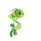 Ilustración linda de los pescados Imagen de archivo libre de regalías