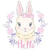 Ilustración linda del conejo libre illustration