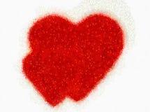 Ilustración, los corazones grandes stock de ilustración