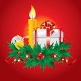 Ilustración maravillosa de la Navidad. Vector. Fotos de archivo libres de regalías