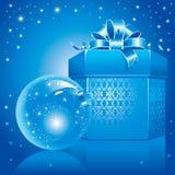 Ilustración maravillosa de la Navidad. Vector. Foto de archivo